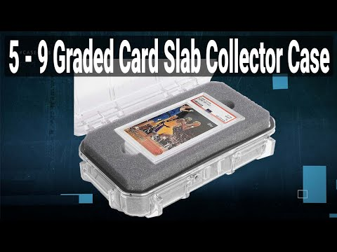 5-9 Graded Card Slab Collector Case - Video