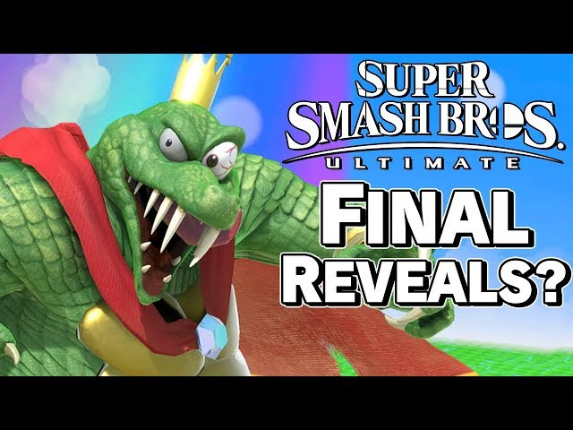 Are The Final Roster Reveals Coming Soon? - Super Smash Bros. Ultimate – Aaronitmar