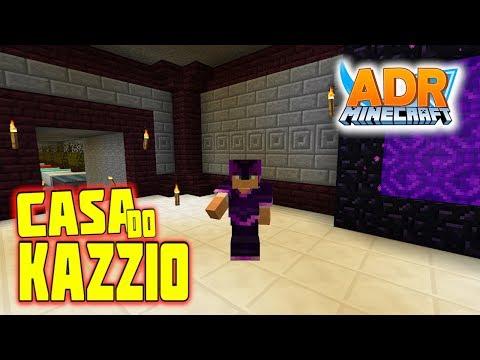 INVADI A BASE SECRETA DO KAZZIO - Minecraft ADR #47