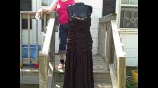 Gunne Sax By Jessica McClintock Vintage Formal Gown Prom Dress Pageant Size 11