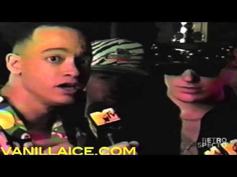 Kid 'n Play Interview Vanilla Ice (1991)