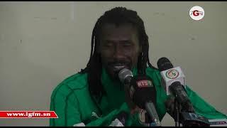 Revivez la conférence de presse d'Aliou Cissé avant Sénégal-Mali