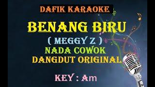 Benang Biru (Karaoke) Meggy Z,  Nada Cowok Am