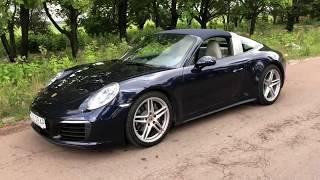 Porsche 911 Targa 4. Обзор.