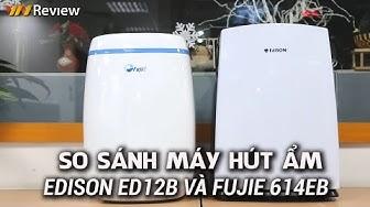VnReview - So sánh máy hút ẩm Edison ED12B và FujiE 614EB: Mức giá tương đương chọn máy nào?