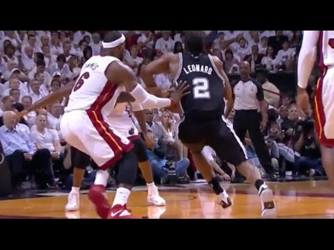 Kawhi Leonard Exposes LeBron's Overrated Defense - 2014 NBA Finals