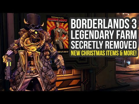 Borderlands 3 Update SECRETLY Removes Legendary Farm, New Christmas Items & More! (BL3 DLC Update) thumbnail