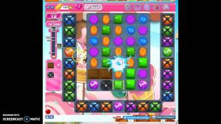 Candy Crush Level 1611 help w/audio tips, hints, tricks