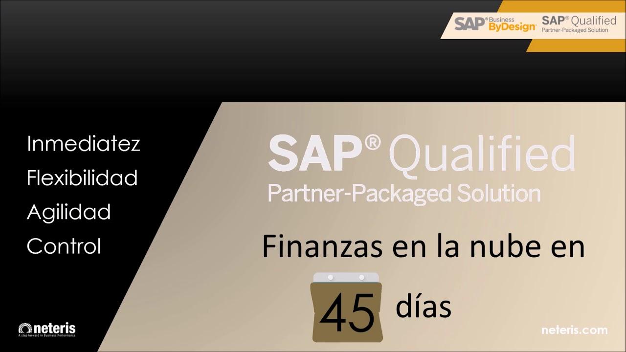 Sap Business Bydesign Módulo Finanzas 45 Días