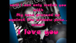 candice glover - i who have nothing with lyrics