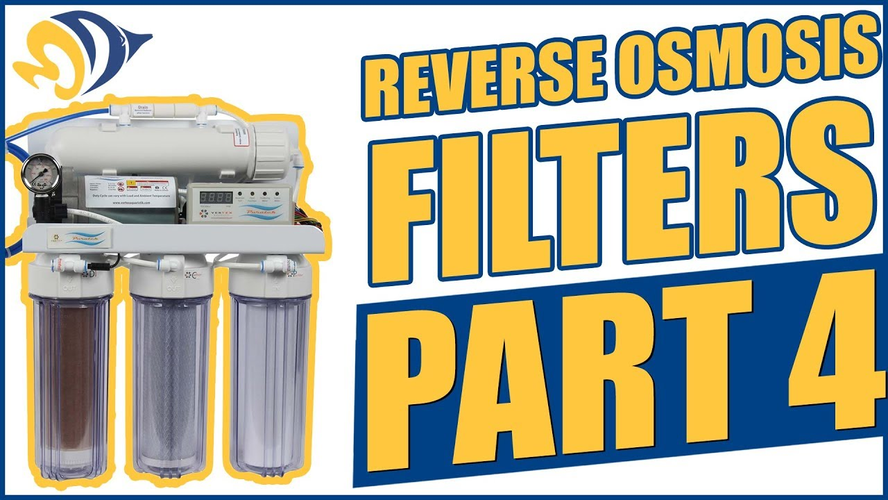 How To Change Reverse Osmosis Filters Reverse Osmosis Filters Part 4 How To Install A Flush Valve Kit