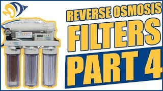 Reverse Osmosis Filters, Part 4: How To Install a Flush Valve Kit