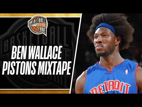 Cougar Bait - Detroit Pistons Honor Ben Wallace With Special Art Installation