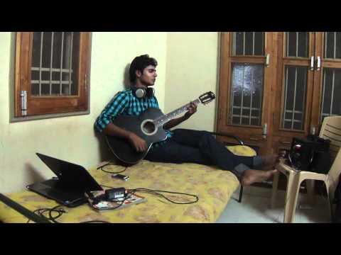 I love you - bodyguard - guitar & vocal by Piyush Upadhyay(NITRR)