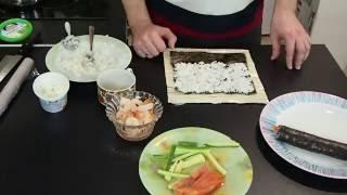 Как быстро приготовить суши(роллы). Рецепт.