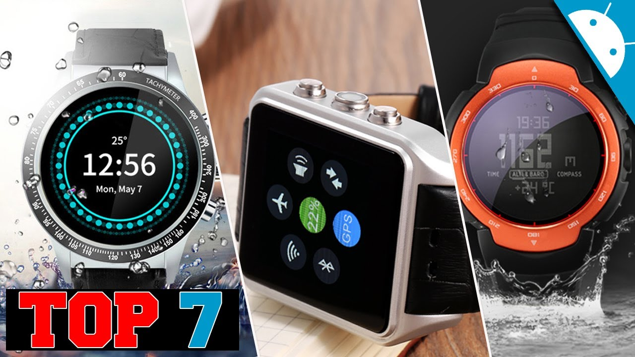 122ee327a05 Os 7 Melhores Smartwatch Resistente água Da China - YouTube