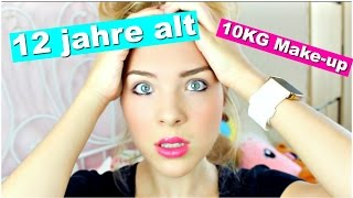 12 JÄHRIGE TRÄGT 10 KILO MAKE UP!? Magg andlifestyle