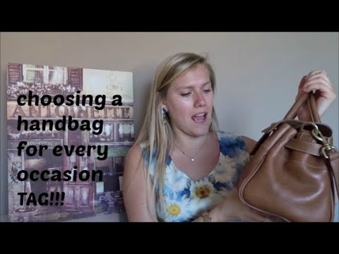 cfb966c780 Choosing a handbag for every occasion TAG - YouTube