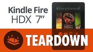 """Kindle Fire HDX 7"""" Teardown Review"""