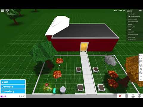 how to make a front yard on bloxburg - YouTube