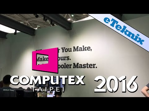 Cooler Master at Computex 2016
