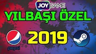 Bedava Pepsi Kodu, Steam Oyun Kodu ve Cüzdan Kodu, Joypara! - (Yılbaşı Özel 2019)