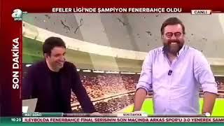 Emre Bolun Aklı sıra Fenerbahçe ile dalga geçmeye çalıştığı an