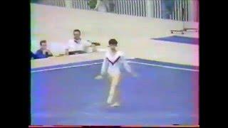 Nobuko ITO (JPN) floor - 1985 Montreal worlds AA