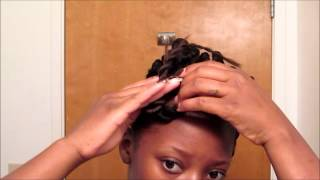 10 tutorial protective style 1 mohawk pin up