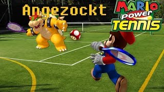 Angezockt Mario Power Tennis [German/Deutsch] [Review]