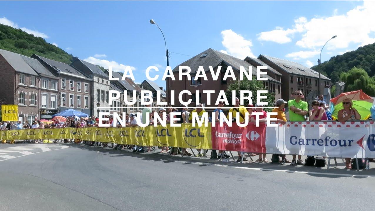 La caravane publicitaire du tour de france 2015 r sum e en for Salon de la caravane