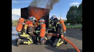 Formation équipier incendie à Coray - 22/10/2019