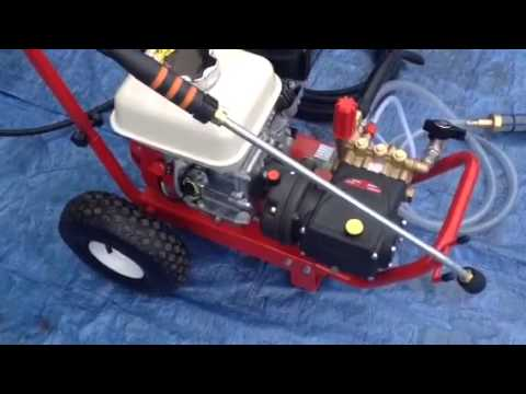 Honda Pressure Washer 5 5hp Gx160 Interpump Qwashers