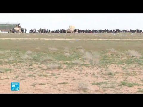 استكمال إجلاء المحاصرين في شرق سوريا يحدد ساعة الصفر لحسم المعركة ضد الجهاديين  - نشر قبل 3 ساعة