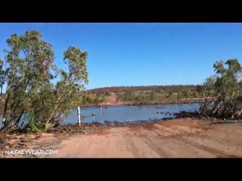4WD river crossing, Gibb River Road, Kimberley Region, Western Australia