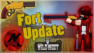 Wild West Forts Update Guide/Review (Roblox)