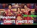 Chhote Chhote Peg - Yo Yo Honey Singh Ringtone | neha kakkar song | new ringtone download 2018