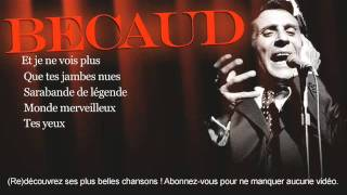 Gilbert Bécaud - Quand tu danses - Paroles (Lyrics)