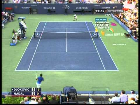 Nadal Vs Djokovic  US Open 2011