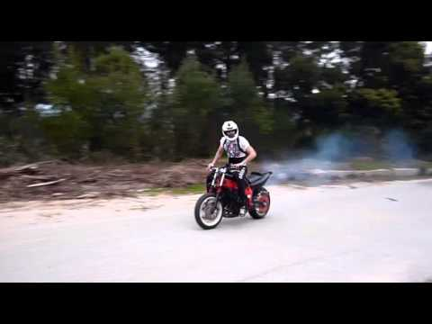 Yamaha Fzr 600 Balles stunt