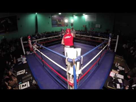 Ultra White Collar Boxing Chichester | Marc Chambers VS Ricky Pitham