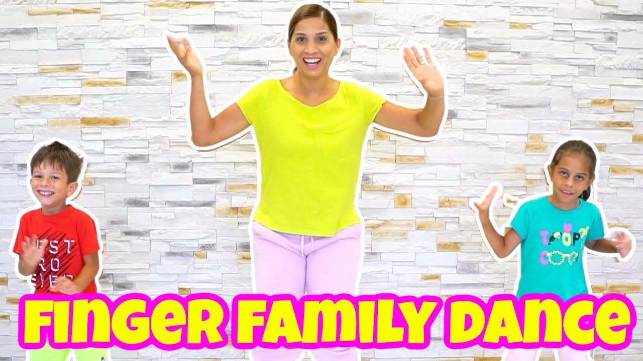Finger Family Dance Song I Kid Songs with Nursery Rhymes by KLS