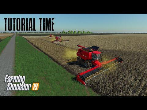 Courseplay 6 Tutorial - Multiple Combines - Farming Simulator 19