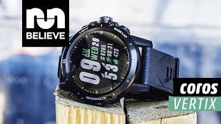 Coros VERTIX GPS Adventure Watch Video Review
