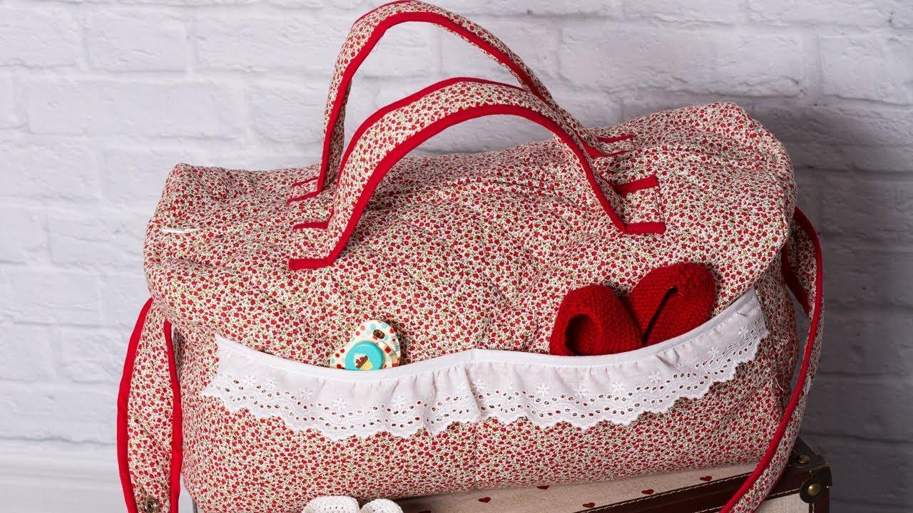 Bolsa De Maternidad Revista Patrones Infantiles Nº 7