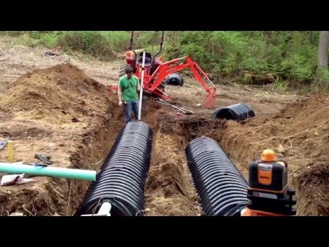 How to install your own septic system - Building a house