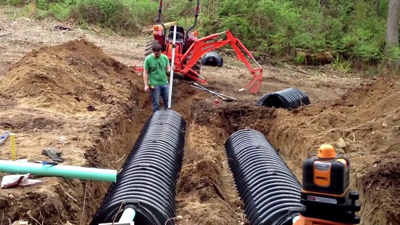 How To Install Your Own Septic System Building A House