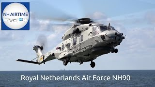 ROYAL NETHERLANDS AIR FORCE NH90 HELICOPTER