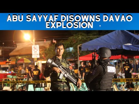 Abu Sayyaf disowns Davao explosion, says ally was behind attack