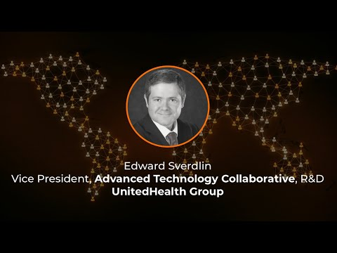 Graph + AI World 2020 - Keynote Speaker - Ed Sverdlin of UnitedHealth Group